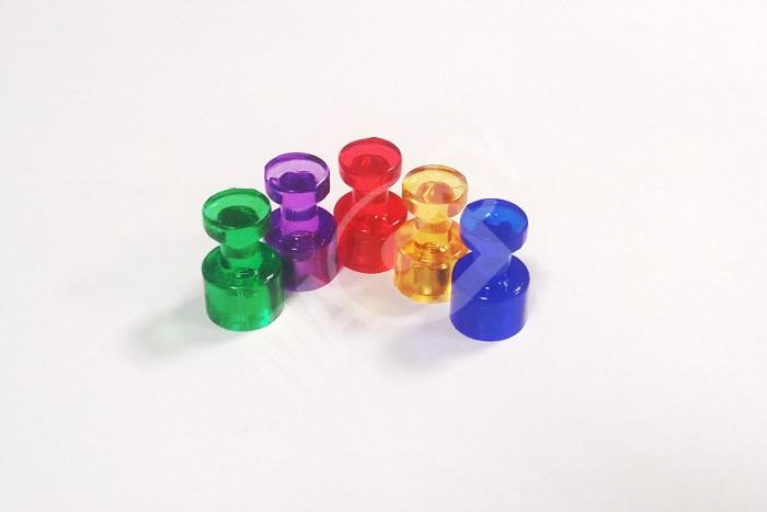 Starke, farbige Kegelmagnete beleben jedes Magnetboard und machen es ...