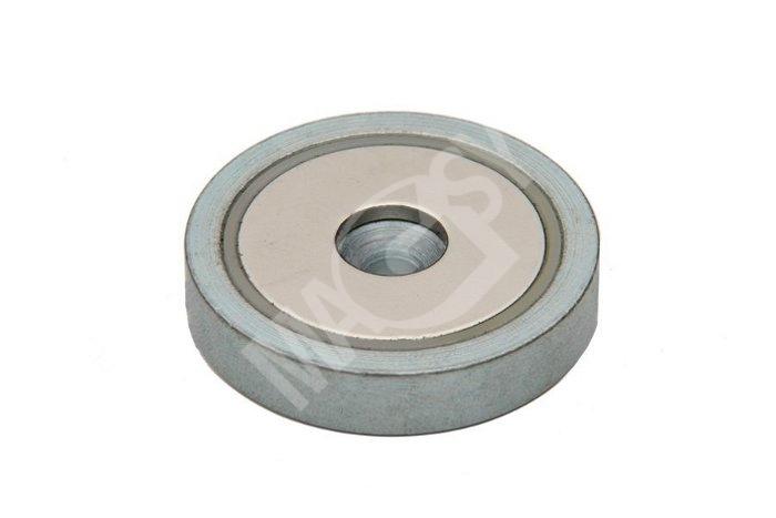 flachgreifer topfmagnete pot magnete mit loch magsy gmbh. Black Bedroom Furniture Sets. Home Design Ideas